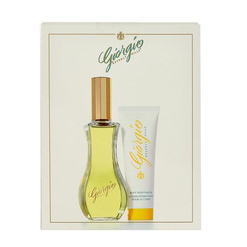 Giorgio Beverly Hills Giorgio dárková kazeta pro ženy toaletní voda 90 ml + tělové mléko 50 ml