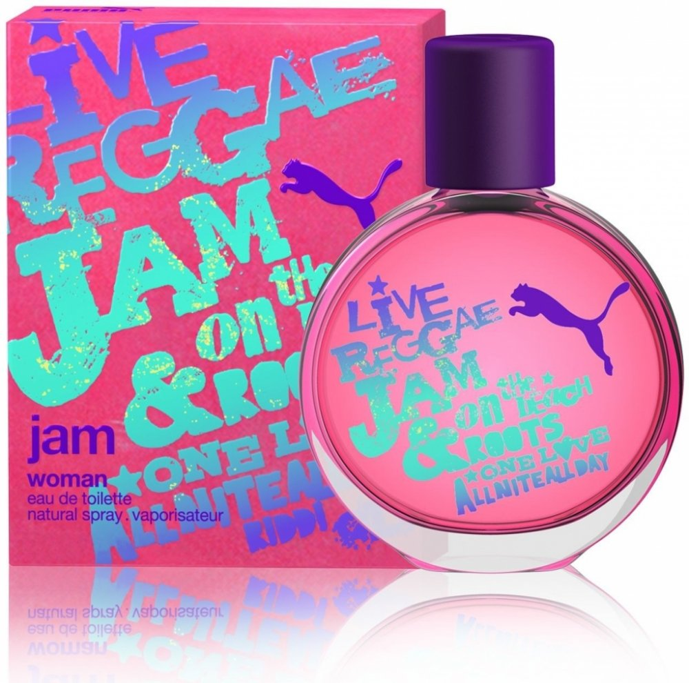 Puma Jam Woman Toaletní voda 40ml W