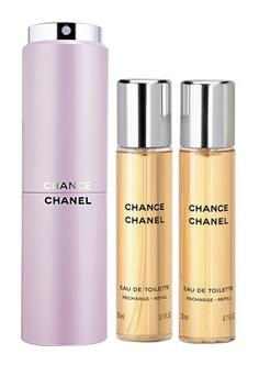 Chanel Chance Twist and Spray Purse Spray W EDT 3x20ml