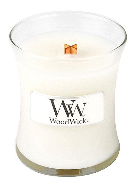 WoodWick oválná váza Čisté prádlo 85g