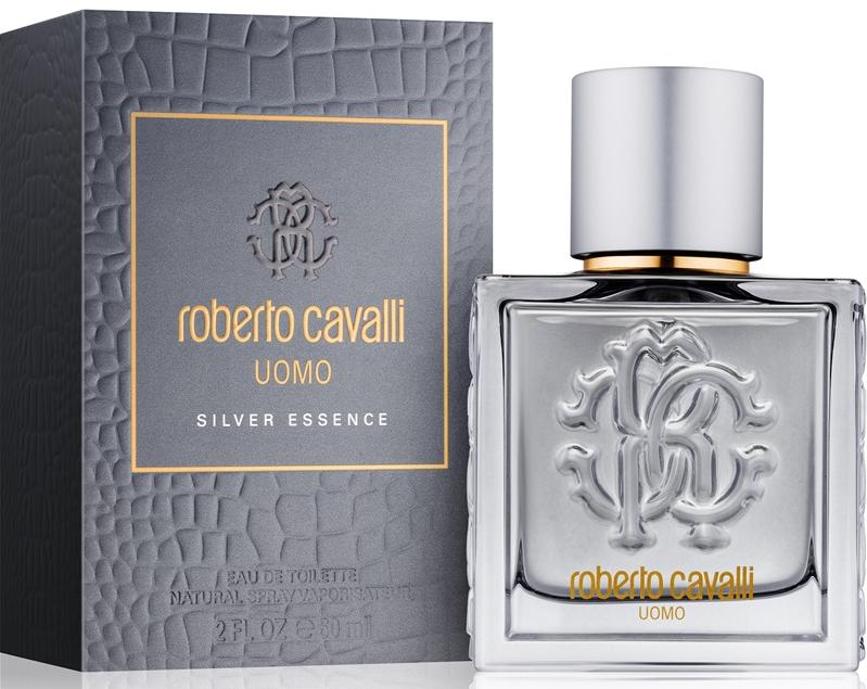 Roberto Cavalli Uomo Silver Essence M EDT 100ml