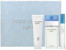 Dolce & Gabanna Light Blue W EDT 100ml + BC 100ml + EDT 7,4ml